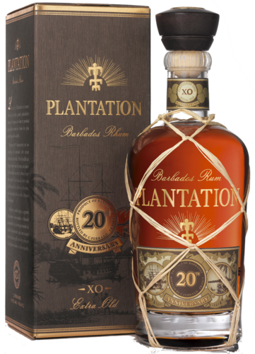 Plantation Barbados Rum XO Extra Old 20th Anniversary (in Geschenk-Packung)