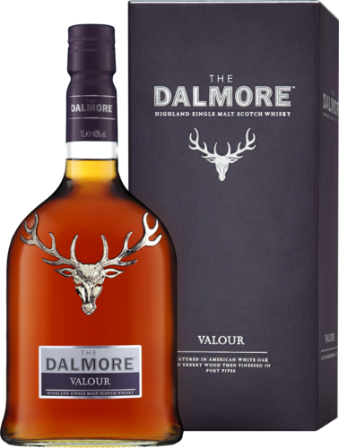 """The Dalmore Valour"" Highland Single Malt Scotch (in Geschenk-Packung)"